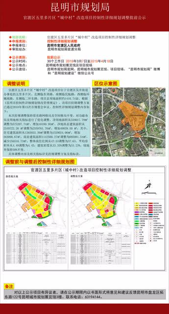 昆明市规划局图