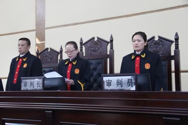 师宗法院公开宣判首例涉恶团伙犯罪案件2