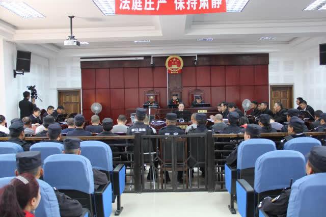 组织卖淫、寻衅滋事、抢劫 丽江玉龙法院公开宣判一15人涉恶案 (2)