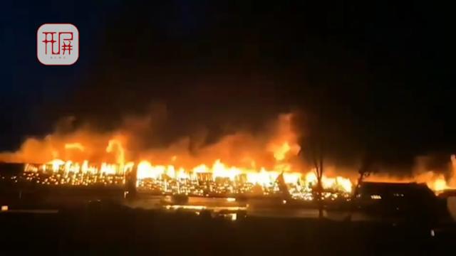 泸沽湖火灾1