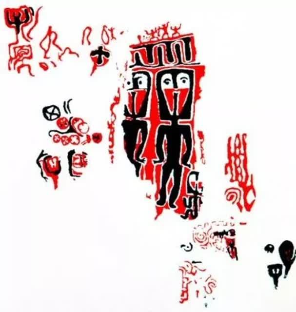 """有4000多年历史的""""古天书""""就在云南这里.8jpg"""