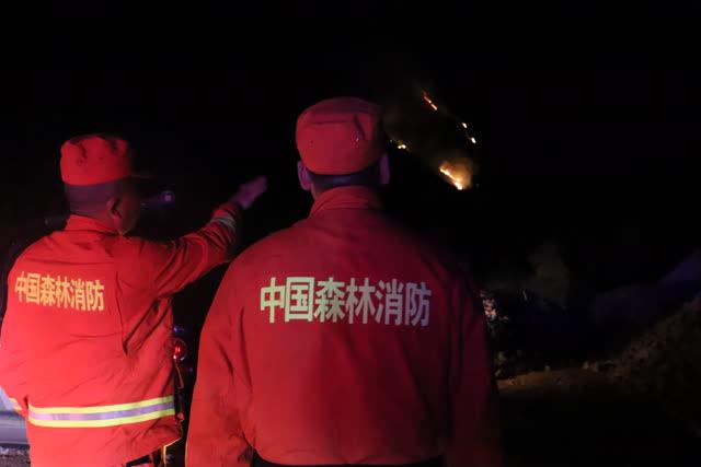 大理州森林消防支队100名指战员抵达 (4)