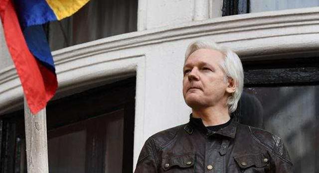 英国媒体:维基解密创始人阿桑奇在伦敦被捕