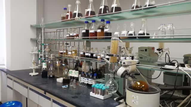 绚烂多彩的植物外衣 实验室